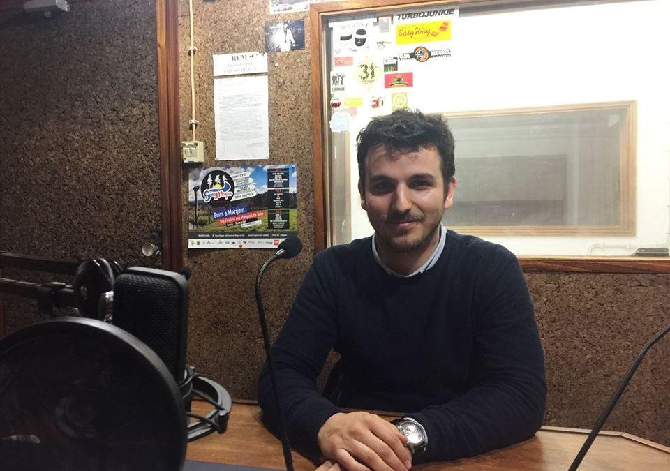 Rádio Universitária do Minho entrevistou Mário Meireles (inclui áudio)