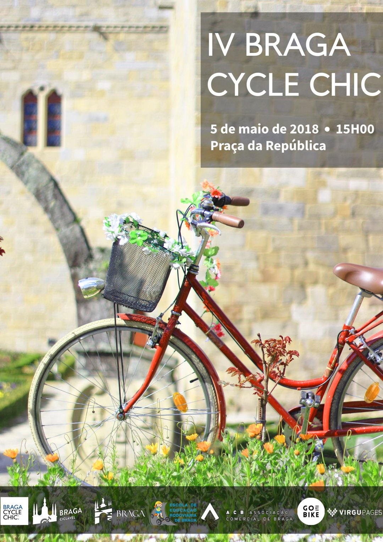 IV Braga Cycle Chic - cartaz