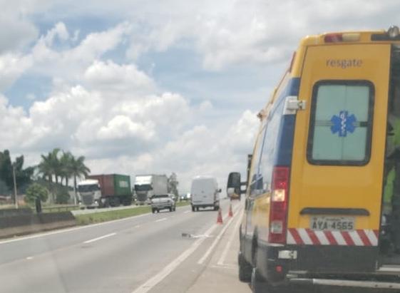 Homem morre em acidente na Fernão Dias