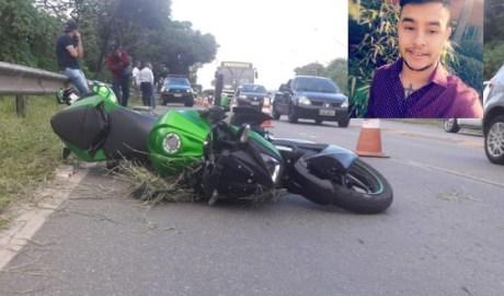 Jovem morre após queda de moto em Bragança