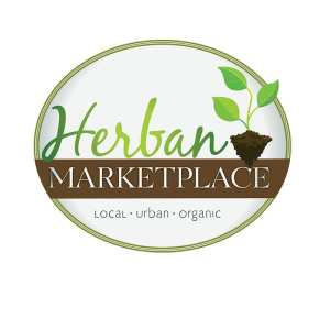 Herban Marketplace logo for an organic grocery store in Beaufort SC