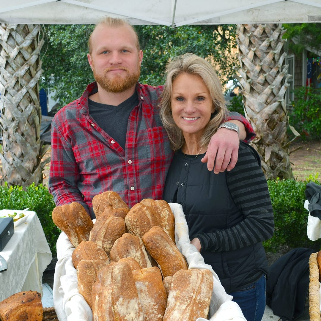 Ryan Fennessey and Kim Tavino of Sprout Momma Breads