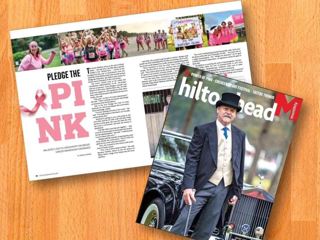 Pledge The Pink Press Coverage