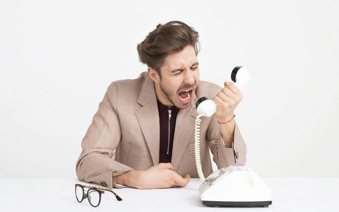 Help! Yelp won't stop calling me.