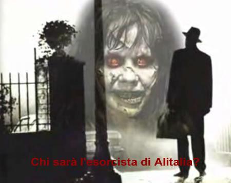 Per le perdite dell'Alitalia ci vuole l'esorcista