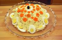 Altra insalata russa decorata