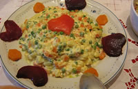 In Russia la chiamano insalata alla francese