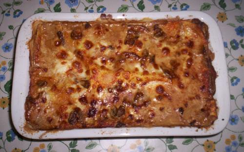 Le lasagne ai funghi porcini