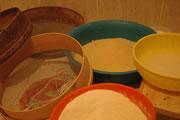 Gli utensili per preparare il cuscus