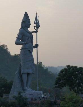Statue de Shiva, à Uttarkashi, Inde