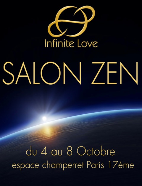 Infinite Love au salon zen 2012, Paris