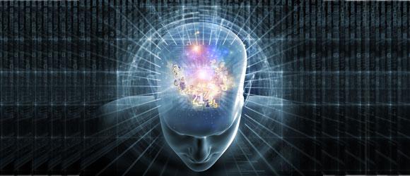 """""""cerveau comme un organe de réception de pensées."""" Kundun"""