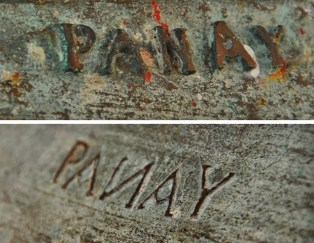 "So, what really is the correct way to pronounce/spell it: Panay or Pan-ay? According to my guide, both pronunciations and spellings are correct. Early Spanish friars, as evidenced by the markings on several of the bells is Sta Monica, however, spell it as Panay. The Pan-ay variation came about when Miguel Lopez de Legazpi moved his government to the region--which was called Bamban at that time--during a food shortage in Manila. When asked about the relocation, he allegedly quipped that ""there is bread"" there; thus: PAN (bread) + HAY (pronounced AY for there is) = PAN-AY."