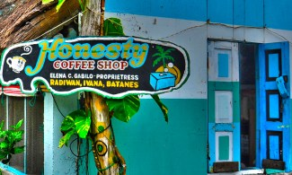 """Probably the most popular establishment in the entire Batanes Isles, this cafe boasts a """"self-service, cashier-less"""" ambiance, where customers are expected to leave payments for the goods they purchased in a box provided -- a sign that the innate goodness of man is still alive."""