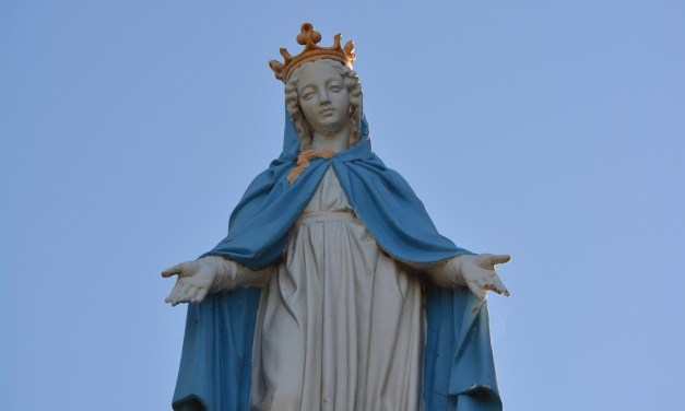 Mary's Soft Blue Mantle