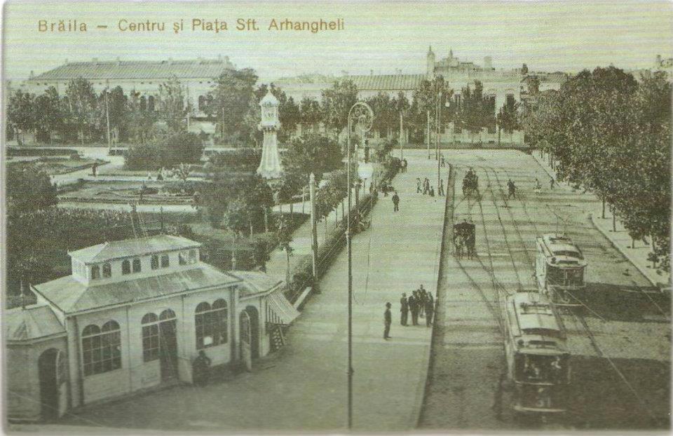 Traseul parcurilor si pietelor publice PIATA TRAIAN - Braila