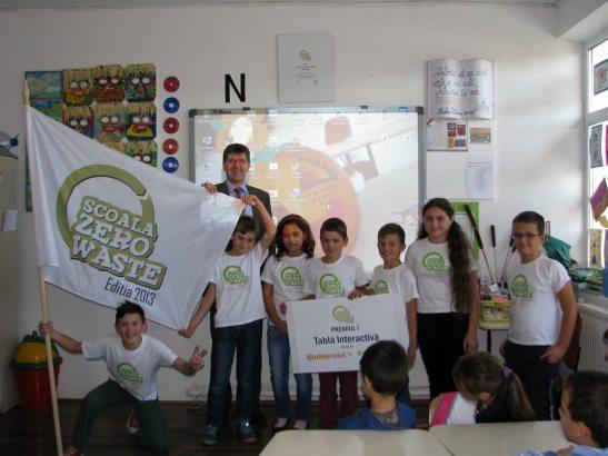"""""""Școala Zero Waste"""" este un concurs național de educație ecologică și colectare selectivă"""