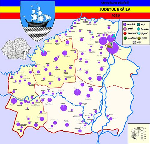 Demografia istorica braileana