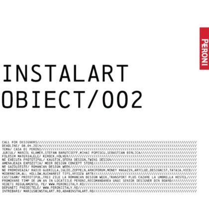 Leonties Sorin - semifinalistul concursului Instalart Obiect 002
