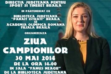 Ziua Campionilor la Biblioteca Judeteana Panait Istrati
