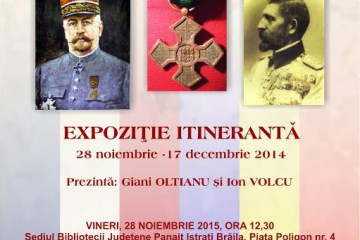 Vernisajul expoziției Francezi și români în timpul primului război mondial