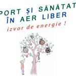 Sport si sanatate in aer liber - izvor de energie