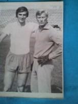 Serban Trofin primul din dreapta o mare glorie a fotbalului brailean