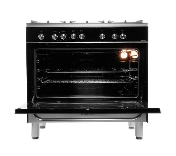 Buy KENWOOD CK305 1 Dual Fuel Range Cooker Black Free Delivery Currys