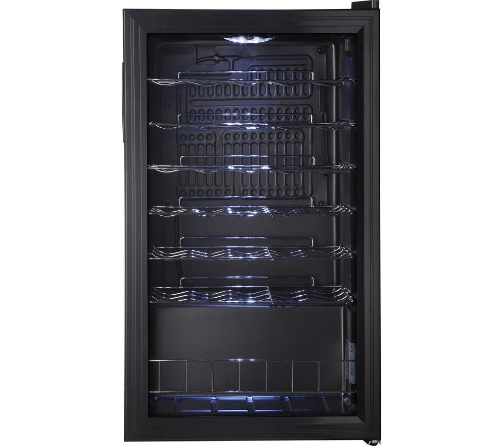 Buy LOGIK LWC34B15 Wine Cooler Black Free Delivery