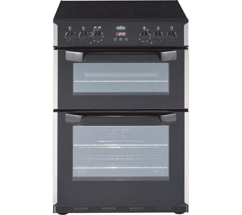 Buy BELLING CFE60DOP 60 Cm Electric Cooker Stainless Steel Free Delivery Currys