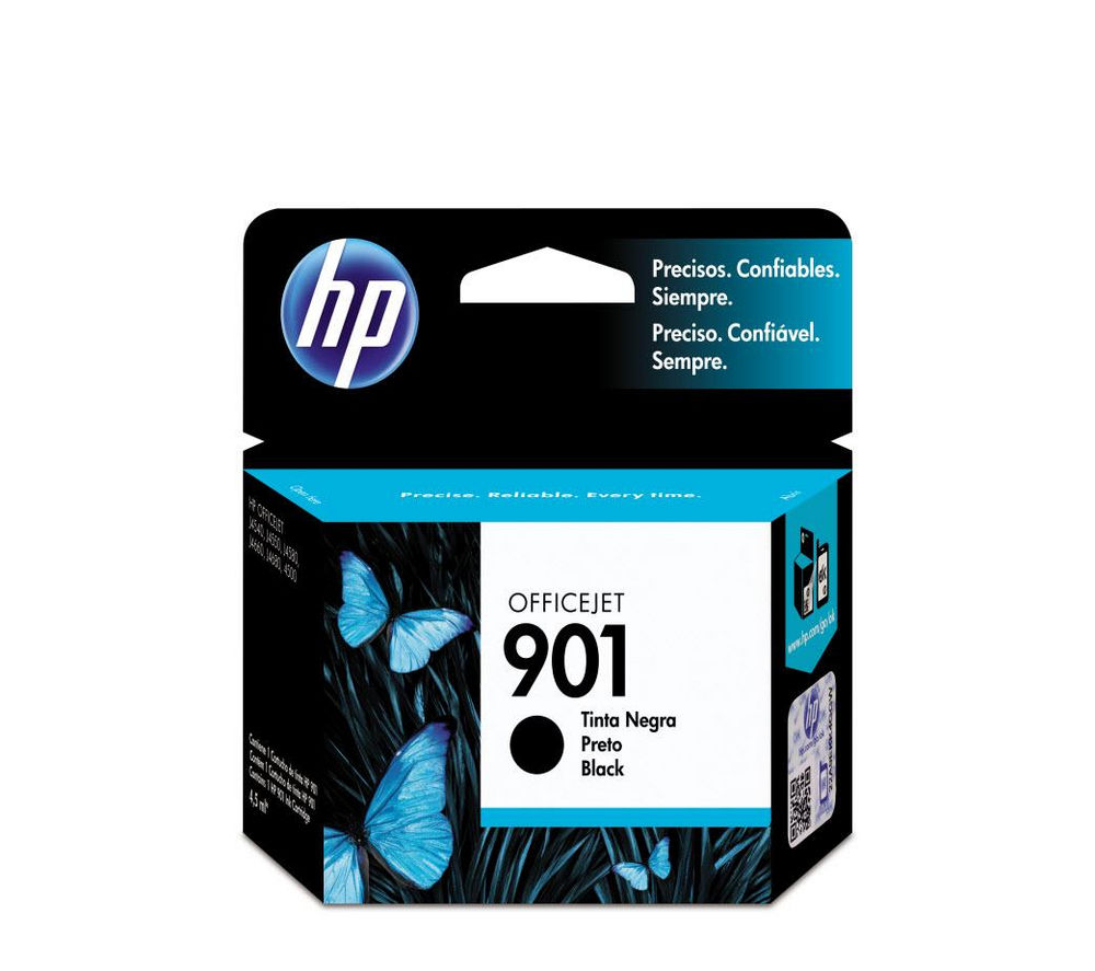 Hp 901 Black Ink Cartridge Deals Pc World