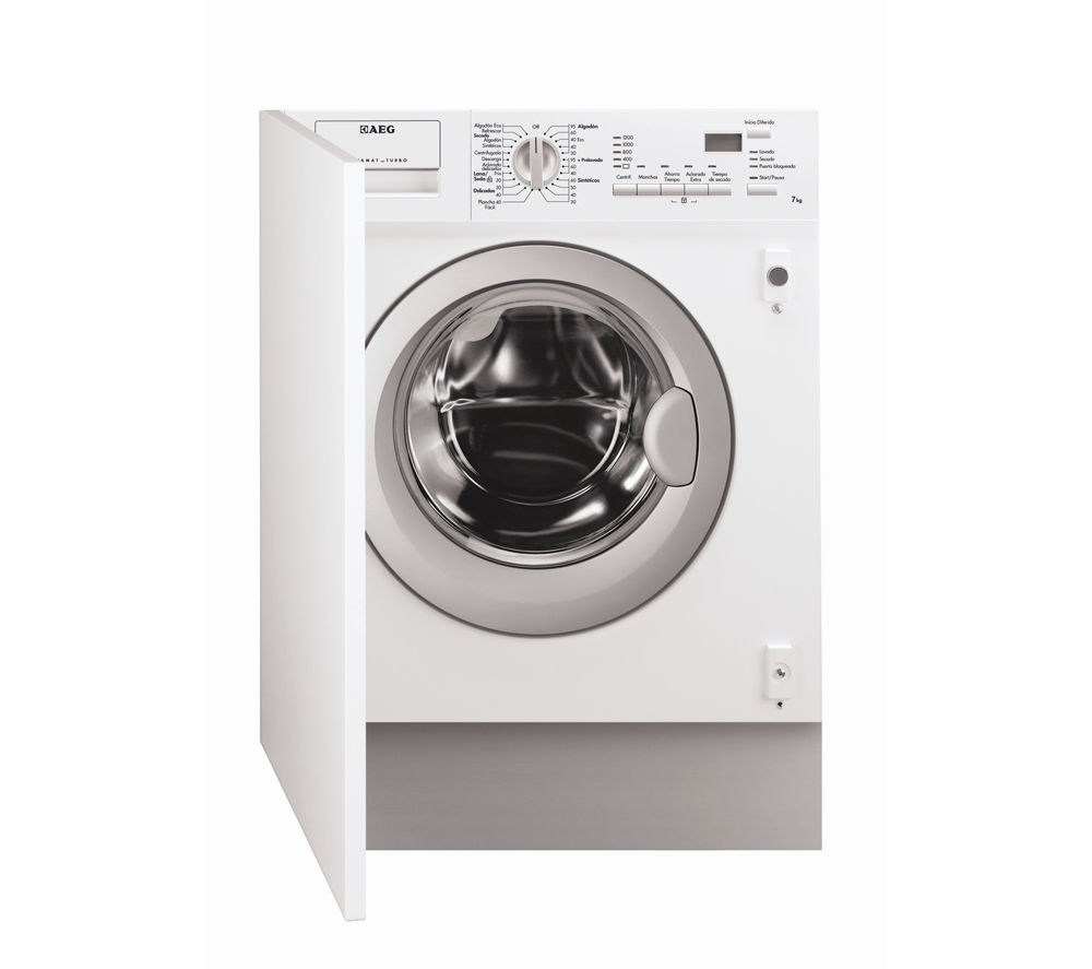 Buy AEG L61271WDBI Integrated Washer Dryer Free Delivery Currys