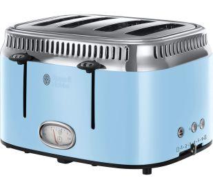 RUSSELL HOBBS Retro 21693 4-Slice Toaster - Blue