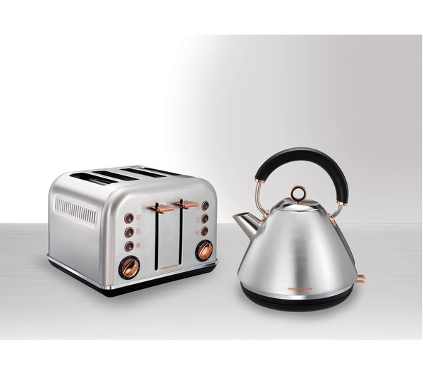 Buy MORPHY RICHARDS Accents 102105 Traditional Kettle Brushed Stainless Steel Amp Rose Gold