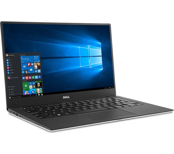 Buy DELL XPS 13 9360 135 Laptop Silver Free Delivery Currys