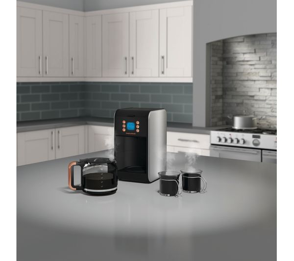 MORPHY RICHARDS Accents 162011 Filter Coffee Machine Black Amp Rose Gold Fast Delivery Currysie