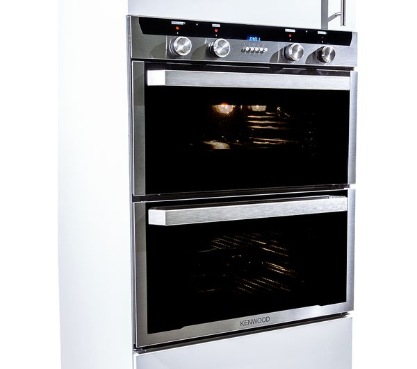 Buy KENWOOD KD1701SS Electric Built Under Double Oven Stainless Steel Free Delivery Currys