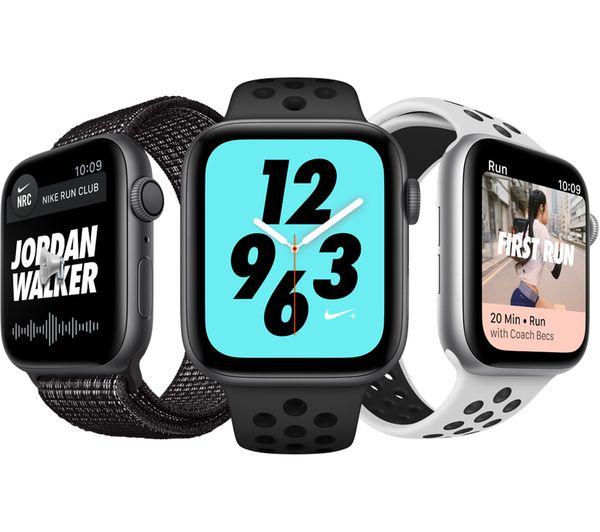 Buy Apple Watch Series 4 Nike Platinum Amp Black Sports