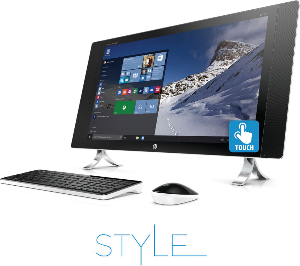"HP Envy 27-p059na 27"" Touchscreen All-in-One PC"