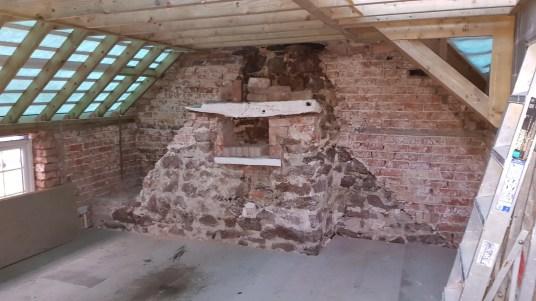 original bedrooms - with extra floor