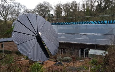 Solar Smart Flower – The first in Wales