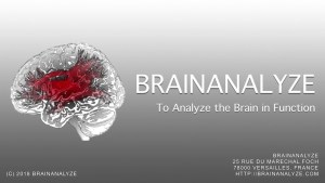 BrainAnalyze's BrainAnalyst: Brochure Video