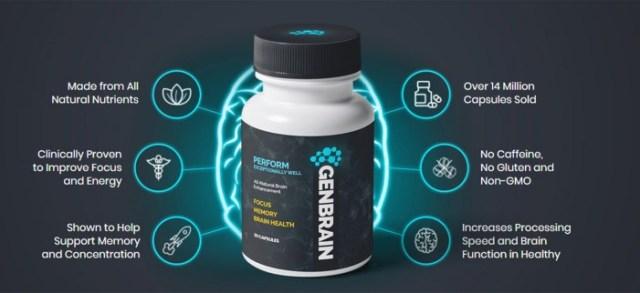 Genbrain benefits