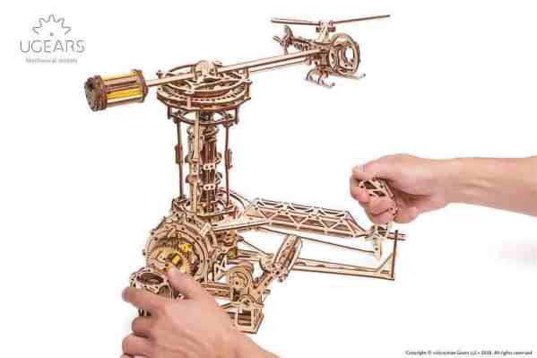 Ugears_Aviator_Model