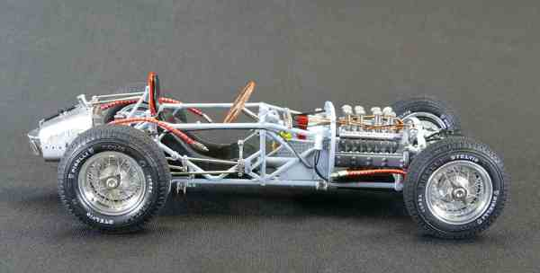 CMC Lancia D50, 1955 Rolling Chassis-01