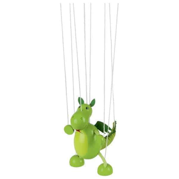 Marionette Dinosaurier