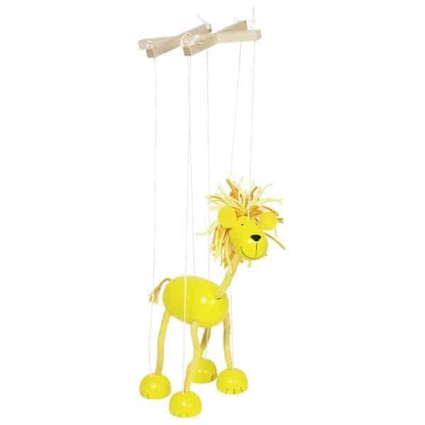 Marionette Löwe-01