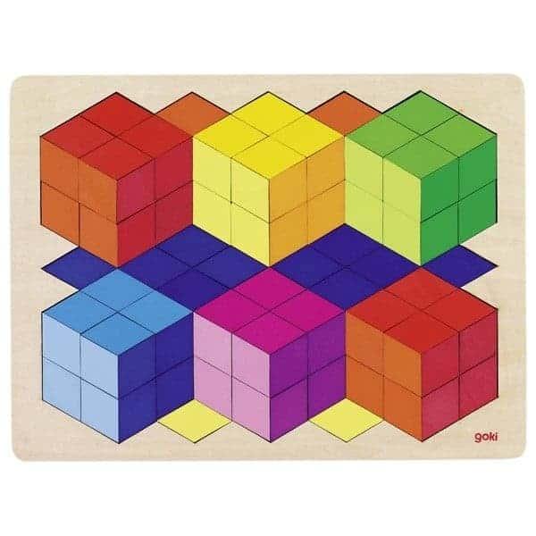 Puzzle 3-D Optik