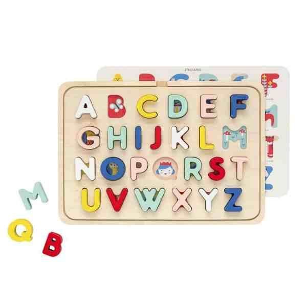 Holzpuzzle ABC