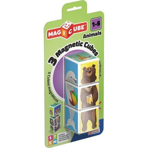 MAGICUBE Blister 3 cubes Animals